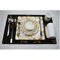 Square beautiful flower silicone mat Manufactures