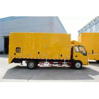 DC24V Electrical Starting Truck Mounted Generator Sets 250kW 9100 * 2500 * 3500mm Manufactures