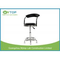 University Laboratory PU Surface Height Adjustable ESD Laboratory Stool For Student Manufactures