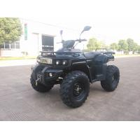 3KW 72V Motor Electric Utility ATV 4x4 Wheels With Shaft Drive , Black Manufactures