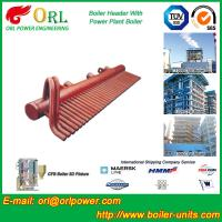 Power Plant CFB Boiler Header / Boiler Low Loss Header High Temperature Manufactures