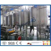 Full Automatic Soft Drink Production Line For Energy Drink Manufacturing Process 3000-20000BPH Manufactures