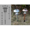 Buy cheap Landscape Solar Lights, Solar Stake LED Light 4500-5500K from wholesalers
