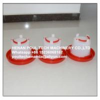 Quality Poultry Farm White Plastic Chicken Waterer & Chicken Drinker & Day Old Chicken Drinker for sale