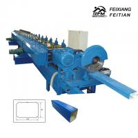 Rectangular Downspout Roll Forming Machine Easy Operation For Construction Manufactures