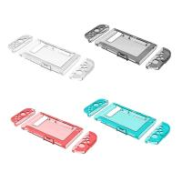Hot New Crystal Clear Full-Body Protector Case for Nintendo Switch Blue Red Black White color Manufactures
