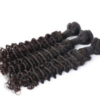 Brazilian Virgin Hair Weave Deep Wave Smooth and Soft Virgin Hair Extension Natural Black Manufactures