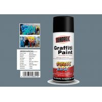 Grey Color Graffiti Wall Painting Easy Construction Operation Drying Quickly Manufactures