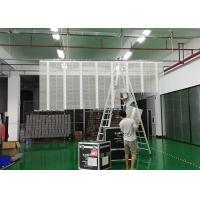 COB Transparent LED Screen Wall 3.91 x 7.82 Pixel Pitch With Asynchronous Control Manufactures