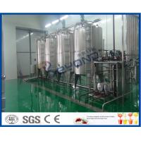3000 - 20000 BPH Fruit Juice Processing Line With Fruit Processor Machine Manufactures