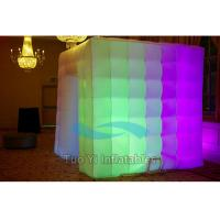 Custom LED Inflatable Photo Booth For Birthday Party Entertainment Manufactures