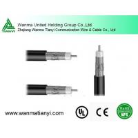 Quality Insulation Material And PVC Jacket  rg11coaxial cable for sale