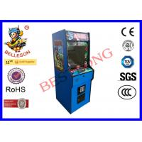 Entertainment Sites Upright Arcade Machine With Double Coin Mechanism Manufactures