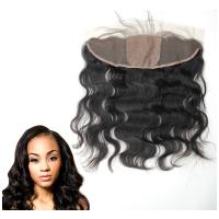 China Ear To Ear Silk Base Lace Front Hair Closure With Hidden Knots Body Wave on sale