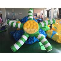 Custom 0.9mm PVC Airtight Inflatable Water Toys For Promotion Manufactures