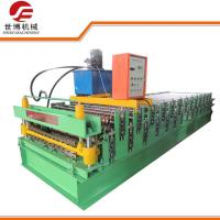 China Roof Use Double Layer Corrugated And IBR Profile Steel Roofing Sheet Roll Forming Machine 1035-1040 on sale