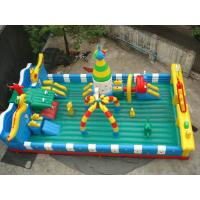 Giant Fun City Games Inflatable Sports Games , Amusement Park 10L x 8W x 4H Meter Manufactures