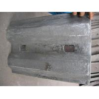 Microstructure White Iron Metal Casting Supplies Mill Liners Manufactures