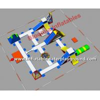 Large Floating Water Park Inflatable Amusement Park Used In Lake Or Ocean Manufactures