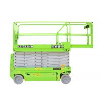 Electrical 12m Self Propelled Scissor Lift for maintenance Manufactures
