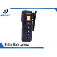 Quality HD 1080P Wearable Security Body Camera , DVR Night Vision Police Body Cameras for sale