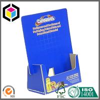 Thin F Flute Custom CMYK Full Color Offset Print Corrugated Carton Display Counter Box Manufactures