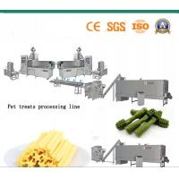 Commercial Automatic Biscuit Making Plant Stick And Bone Shape With Starch Manufactures