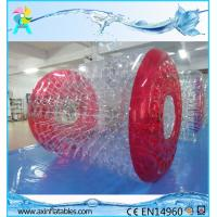 Good price Custom PVC/TPU inflatable floating water roller walking ball for kids and adult