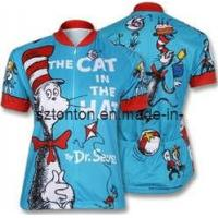 Cat in The Hat Men′s Retro Art Poster Classic Cycling Jersey Manufactures