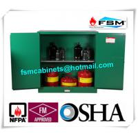 Flame Proof  Hazardous Material Storage Containers 30 Gallon For Pesticide / Gas Cylinder Manufactures