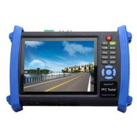 High Resolution CCTV Tester , Multifunction 7 Inch Touch Screen IP Camera Tester Manufactures