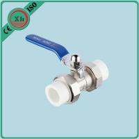 Heat Preservation Ppr Double Union Ball Valve Corrosion Resistant Fusion Welding Manufactures
