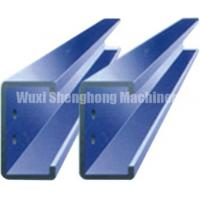 China Hot Dip Galvanized Steel Changeable Purlin Forming Machine C / Z Series on sale