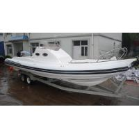 Long 9.6m Semi - Rigid Inflatable Yacht Tenders Motorized Inflatable Boats RIB960 Manufactures