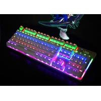 Buy cheap Color Changing LED Backlit Keyboard Laptop Illuminated Keyboard Waterproof from wholesalers