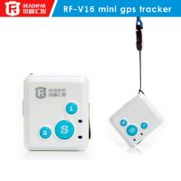 Smallest go everywhere gps personal tracker cell phone RF-V16 Manufactures