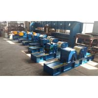 Buy cheap Tank Pipe Rollers Heavy Duty 100 Ton Rotary Capacity Self Centering from wholesalers