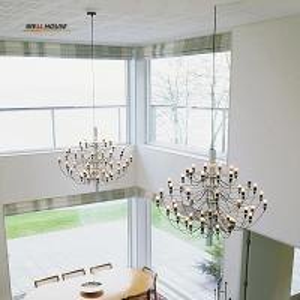 Modern Led chandelier lighting Simple Hanging Lights for Restaurant/Hotel/DingRoom E14 18/30/50 Heads avize Chandelier Manufactures