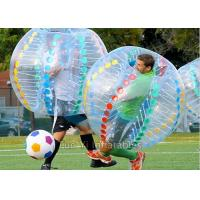 Camping Bubble Ball Game Human Inflatable Zorb Ball Bumper Soccer Manufactures