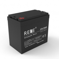 China Electric Powered Toys 12V 55ah Long Life Lead Acid Battery on sale