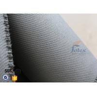 Home Fire Safety Blanket 1600g 1.3mm Grey Silicone Coated Fiberglass Fabric Manufactures