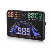 Universal  5.8 Inch Audi S7 GPS Heads Up Display Single Driving KM Mile Compass HUD Manufactures