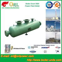 Water Heat Boiler Mud Drum / Boiler Drum Once Through For Power Station Manufactures