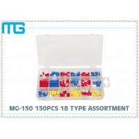 MG - 150 Customized Wire Terminal Assortment Kit 18 Types Terminals / Disconnects With PO Box Manufactures