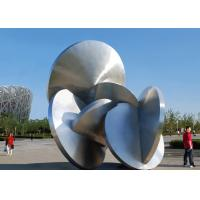 Modern Decoration Large Outdoor Metal Sculptures All Stainless Steel 316L Manufactures
