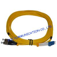 China CATV System Fibre Optic Patch Cord , SM Duplex LC Patch Cord​ High Stability on sale