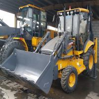Buy cheap 7.3T Heavy Earth Moving Machinery , Backhoe Loader WZ30-25 With 0.3m Digger from wholesalers
