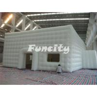 Mobile Building Inflatable Cube Tent with Door and Window Manufactures