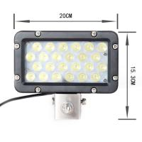 spot beam 6000K 24 Watt boat Led Driving Light 8 Inch Head Light Waterproof Manufactures