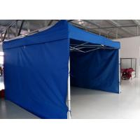 Logo Printed 3m X 4.5m Pop Up Canopy Tent With Sidewalls , Pop Up Market Gazebo Hire Manufactures